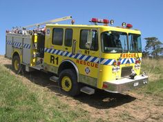 Auckland International Airport Rescue 1, 1988 Spartan Charger