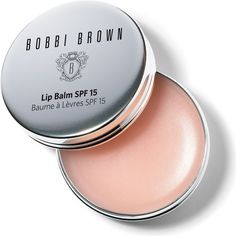 BOBBI BROWN Lip balm SPF 15 ($21) ❤ liked on Polyvore featuring beauty products, skincare, lip care, lip treatments, makeup, beauty, lips, cosmetics, lip balm and fillers