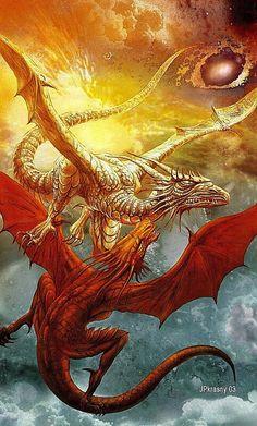 Flight of the dragons