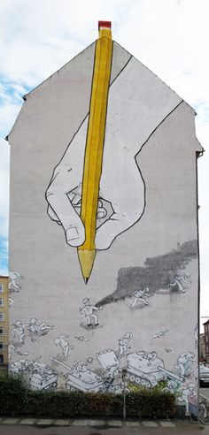Inspiration Graffiti by Blu