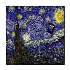 Starry Night Van Gogh Police Box Face Towel Washcloth Quinn Cafe http://www.amazon.com/dp/B00S4OP2BQ/ref=cm_sw_r_pi_dp_nd5Sub120V77W