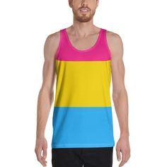 Mad Over Shirts Celebrate All Inclusive Pride Unisex Premium Tank Top