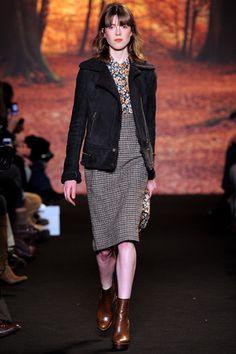 Fall 2012 RTW, Designer: Paul & Joe, Model: Sojourner Morrell
