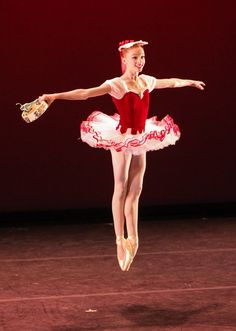 Catherine Hurlin of American Ballet Theatre's Studio Company; photo by Erin Baiano, courtesy of JKO School