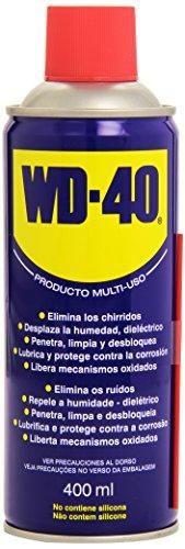 Oferta: 4.15€ Dto: -43%. Comprar Ofertas de WD 40 34104 - Spray multiuso (lubricante, aflojatodo, dieléctrico, 400 ml) barato. ¡Mira las ofertas!