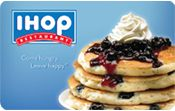 Don't pay full price. Save money at IHOP by buying a discount gift card. Gift Card Granny has the biggest selection and savings for IHOP gift cards.