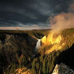 Yellowstone! Our favorite place to vacation. Go the 1st of spring to see bears & babies & fall to see the elk rut!