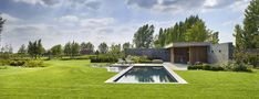 Modern poolhouse | Bogarden