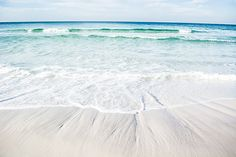 Waves of Paradise - seaside - florida - vacation - beach - 30A - blue - Prints - Shelby Young Photography - Nikon