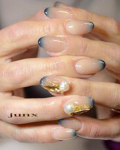 Fails art gel spring ideas for 2019 Nail Polish Art, Gel Nail Art, Acrylic Nails, Japanese Nail Design, Japanese Nail Art, Elegant Nails, Stylish Nails, Cute Nails, Pretty Nails
