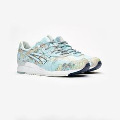 "ASICSTIGER x ATMOS GEL LYTE™ III ""WORLD MAP"" 