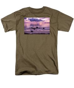 Purchase an adult t-shirt featuring the image of Sunset Blush by Kristina Abramovic.  Available in sizes S - 4XL.  Each t-shirt is printed on-demand, ships within 1 - 2 business days, and comes with a 30-day money-back guarantee.