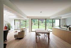 Architectenkantoor: Van Halewyck & Marco Architects - Renovatie en uitbreiding van een woning