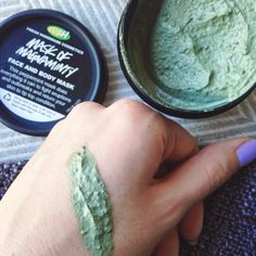 Remember Rayne: LUSH'S MASK OF MAGNAMINTY // REVIEW, SENSITIVE + ACNE PRONE SKIN