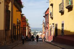 Calles de San Miguel de Allende.