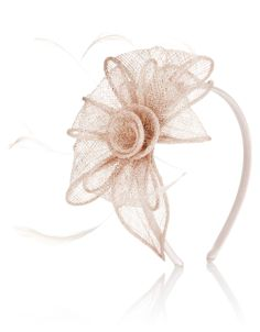 Rosie Lurex Petal On Band Fascinator | Pink | Accessorize