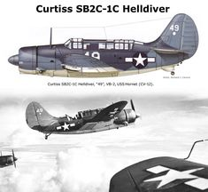 Curtiss SB2C-1 Helldiver