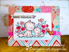 "Christy Gets Crafty | Mulberry Wood ""Love You"" by Crafter's Companion, Spectrum Noir"