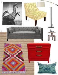 Tribal Modern Dream Living Room