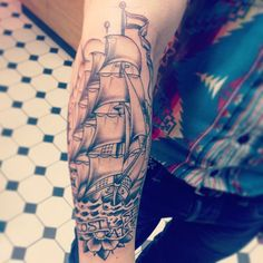 Sick Sailor tattoo