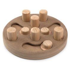 Amazon.com: Zanies Wood Interactive Puzzles Dog Toy: Pet Supplies