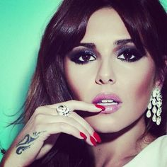 Cheryl Cole #makeup