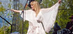 If you don't know who Grace Potter is yet, you will.  She is the sexy wild front-woman of the rock band Grace Potter and the Nocturnals. Her band hosts a festival, Grand Point North, in September in
