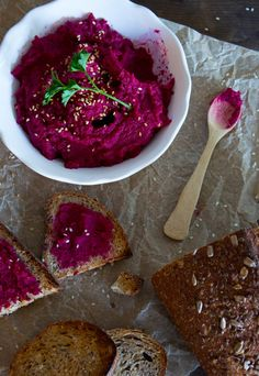 What could make healthy hummus even better? Healthy beets! This Roasted Red Beet Hummus is even tastier than it looks.