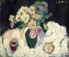 André Lanskoy (French Painter, born in Russia (1902 - 1976)    Le bouquet de fleur, N/D
