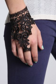 ring lace braclet