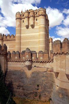 Castillo de Coca, Torre del Homenaje, Coca, Segovia, Castilla y León, España