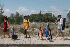 On our way to play on the beach near Castellon, Spain
