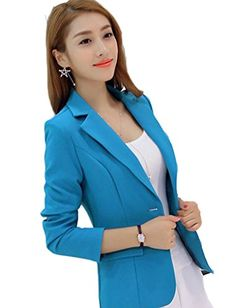 Lovely Item Women's V-neck One Button Lapel Solid Color O... https://www.amazon.com/dp/B01N9F84N6/ref=cm_sw_r_pi_dp_x_DTrsyb8YGZMK1