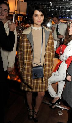 Pixie Geldof at Kate Moss's book launch
