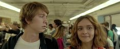 "When Greg and Rachel become actual friends, not just the mom-ordered kind. | 16 Great Moments From ""Me And Earl And The Dying Girl"""