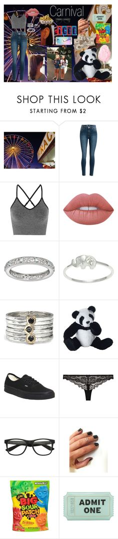 """Carnival '16"" by alyssab3773 ❤ liked on Polyvore featuring Ivy Park, Lime Crime, Stacks and Stones, Itsy Bitsy, MeditationRings, Panda, Vans, Heidi Klum, Kate Spade and Samsung"