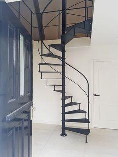Spiral Staircase, Stairways, Architecture Details, Loft, Living Room, Bed, Interior, Furniture, Indigo