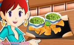Learn more about a fascinating collection of Sara\'s Cooking Class games: more than 100 games for girls available online. Sara's Cooking Class, California Rolls, Nacho Dip, 100 Games, Class Games, Falafel, Games For Girls, Nachos, Online Games