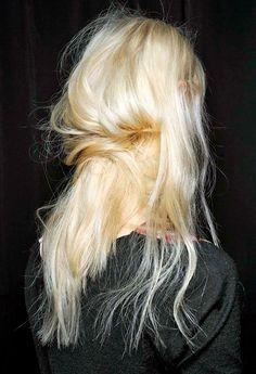 .textured runway hair