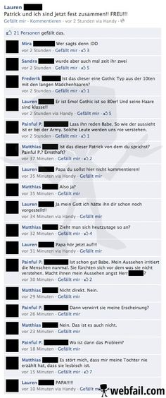 Liebesglück unter Emos - Facebook Win des Tages 24.08.2014 | Webfail - Fail Bilder und Fail Videos