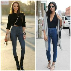 High Waisted Skinny Jeans2 2014 Fashion Trends, Fall Jeans, Denim Fashion, Put On, Looks Great, Winter Fashion, Black Jeans, Skinny Jeans, Pants