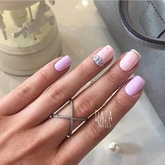 Evening dress nails, Evening nails, Nails ideas 2016, Nails with gems, Nails with rhinestones ideas, Nails with stones, ring finger nails, Smart nails