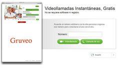 Gruveo, realiza videollamadas y llamadas de voz gratuitas e ilimitadas desde la web