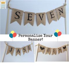Cake Topper Birthday Cake Topper Custom Cake by QueensBanners