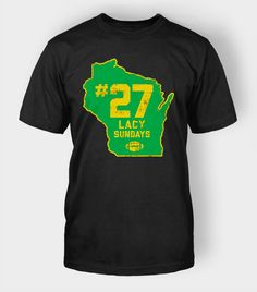 Eddie Lacy of Green Bay Packers | Lacy Sunday T-Shirt $29.99 #eddielacy #football #packers #shirt