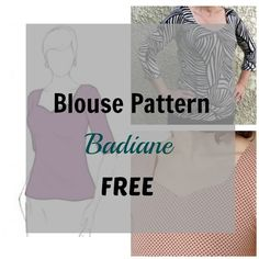 The Badiane blouse pattern is for a soft and comfortable top that can be made out of knit fabrics.  It is very easy to sew and can be sewn with a serger machine or using a zig zag sitch. … Continued