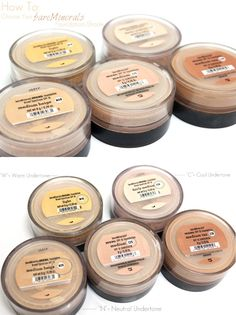 How to Choose Your @bareMinerals Foundation Shade | This post shares all of the details you'll want to know about matching your foundation online! | #bareminerals