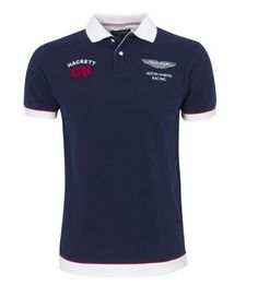 694bc63c725 Hackett Bonne qualité Aston Martin Racing Homme Polos Bleu. lesslinshi ·  Ralph Lauren Pas Cher