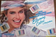 Blooming Colors by Maybelline - from SPRINKLES AND PUFFBALLS: 1980s Makeup and Beauty