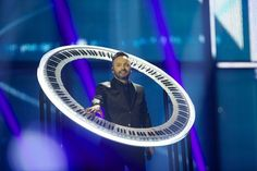 Romania came dressed as Saturn. | The 24 Most Important Moments From Eurovision 2014